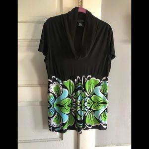 Woman's INC International Concepts blouse
